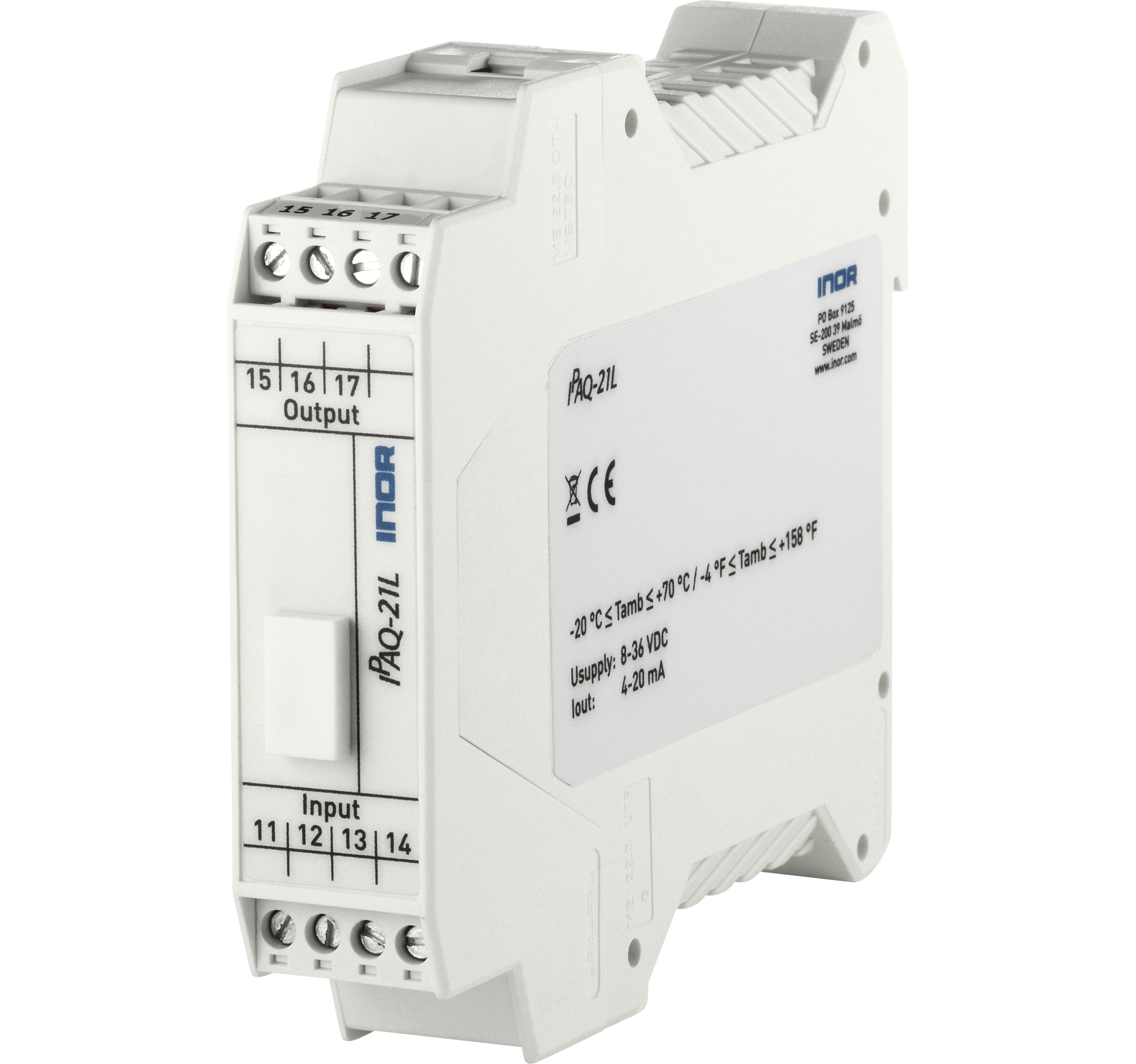 ipaq-21l-universal-1-channel-din-rail-pc-programmable-isolation-1500-v-plug-in-terminals